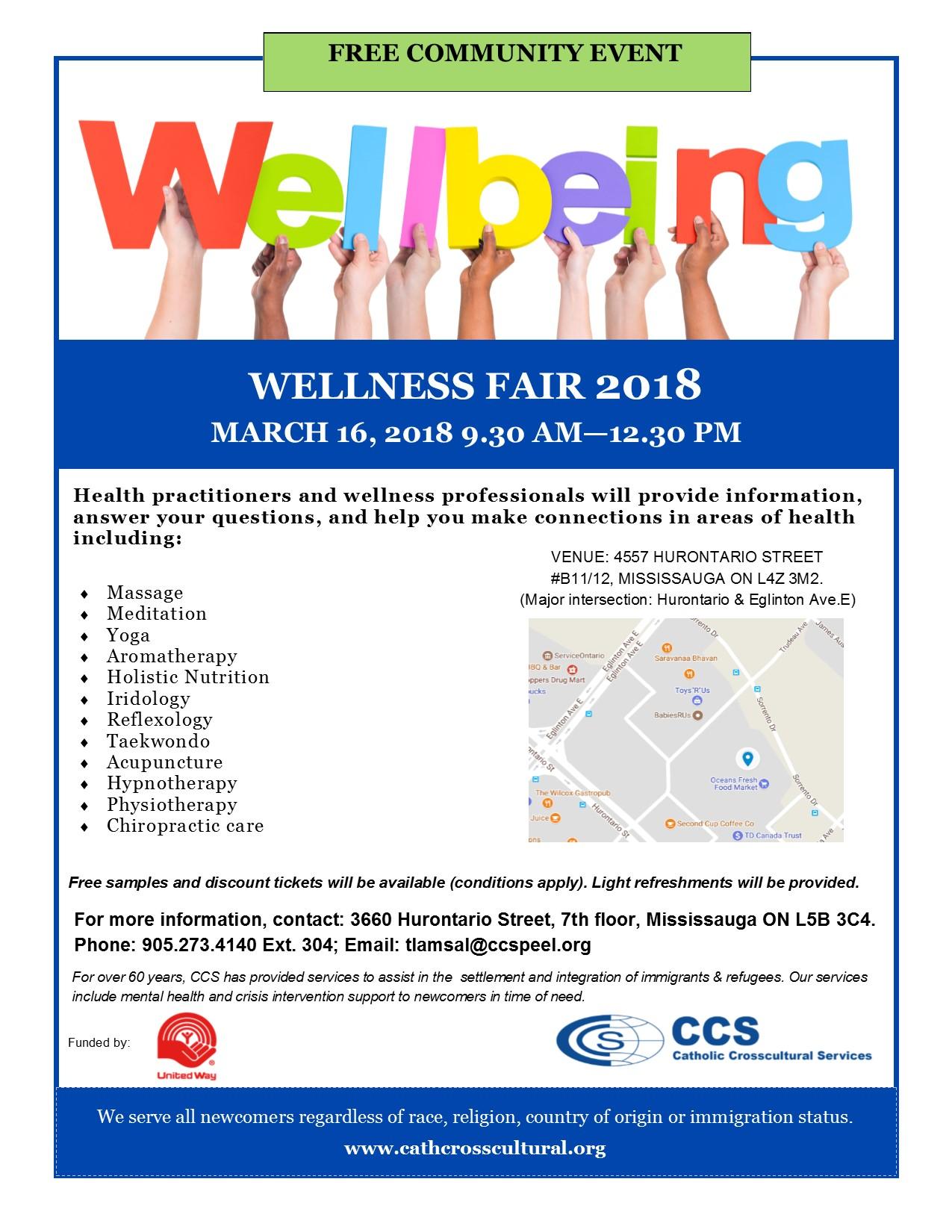 Wellness Fair 2018