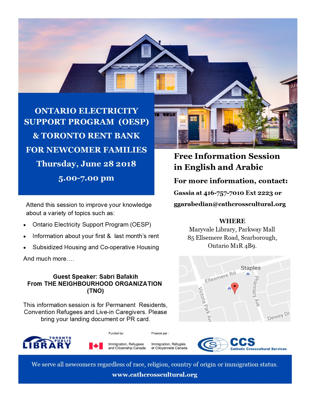OESP Toronto Rent bank June 28-RR